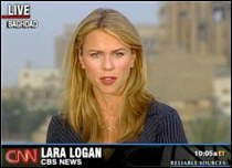 Hired For Looks? Lara Logan, CBS
